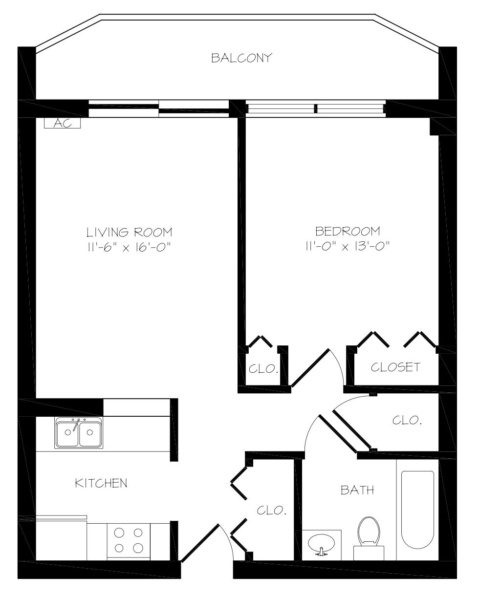 Judson Park 1 bedroom deluxe