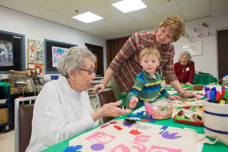 Judson Family Art Day