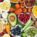 Health food for fitness concept