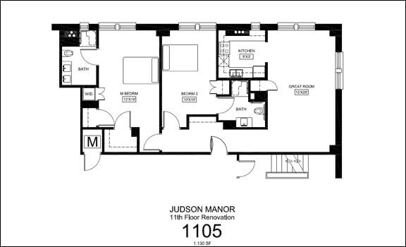 Judson Manor suite 1105