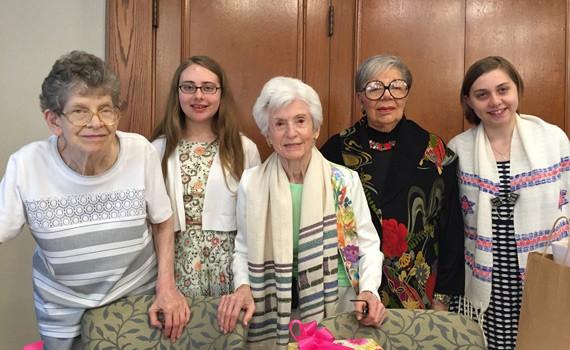 Judson Park residents bnai mitzvah