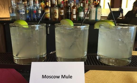 Radius Restaurant Tour Rob Walk's signature Moscow Mule