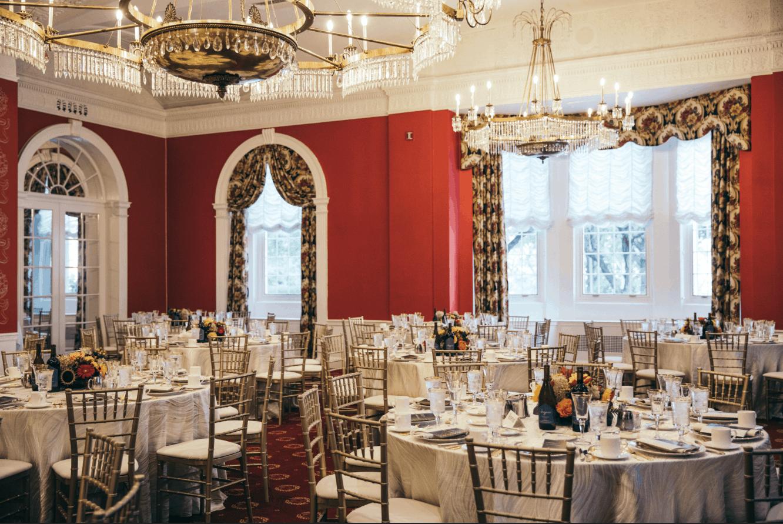 Luxury Independent Living Ballroom at Judson Manor