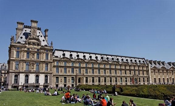 Tuileries in Paris