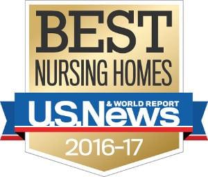US News & Wolrd Report's 2016-2017 Best Nursing Homes - thumbnail