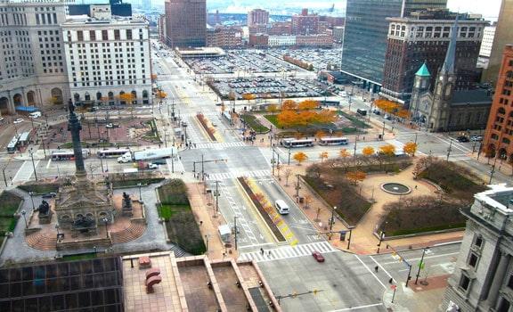 Cleveland Public Square RNC